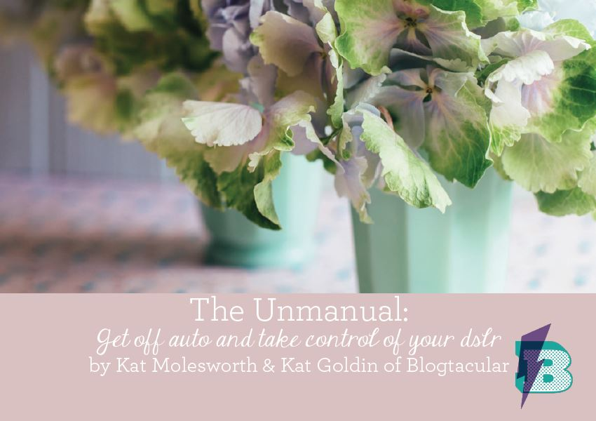 The Unmanual - Blogtacular's Guide to Taking Your DSLR off Auto. Free ebook which totally explains everything you ever wanted to know.